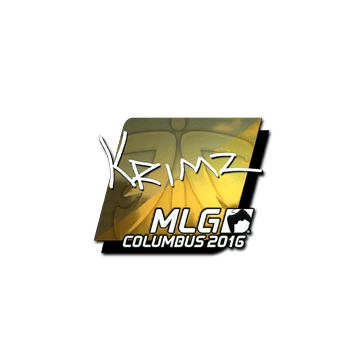 Sticker KRIMZ (Foil) | MLG Columbus 2016