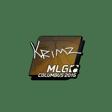 Sticker | KRIMZ | MLG Columbus 2016