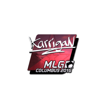 Sticker karrigan (Foil) | MLG Columbus 2016