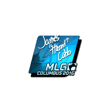 Sticker | hazed (Foil) | MLG Columbus 2016