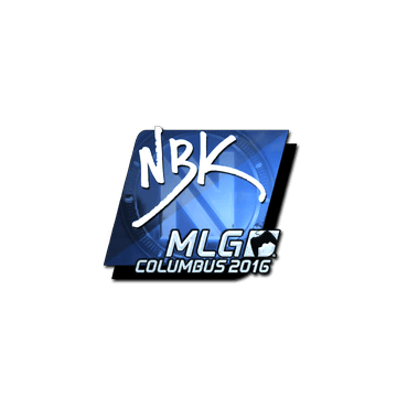 Sticker NBK- (Foil) | MLG Columbus 2016