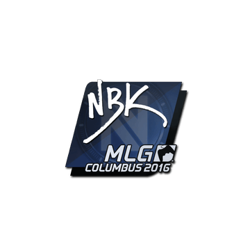 Sticker NBK- | MLG Columbus 2016