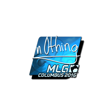 Sticker | n0thing (Foil) | MLG Columbus 2016