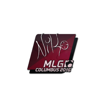 Sticker | NiKo | MLG Columbus 2016