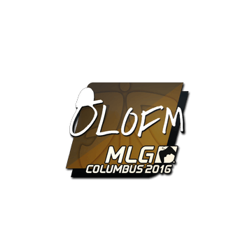 Sticker olofmeister | MLG Columbus 2016