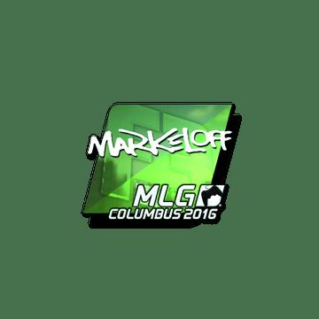 Sticker markeloff (Foil) | MLG Columbus 2016