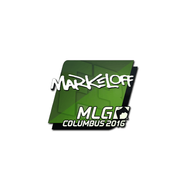 Sticker markeloff | MLG Columbus 2016