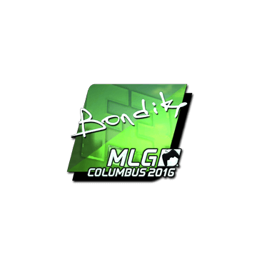 Sticker bondik (Foil) | MLG Columbus 2016