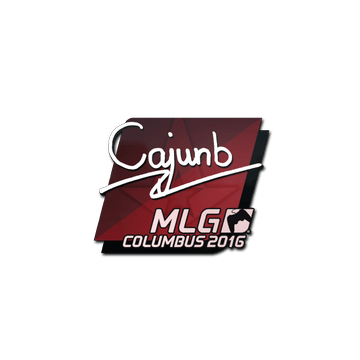 Sticker cajunb | MLG Columbus 2016