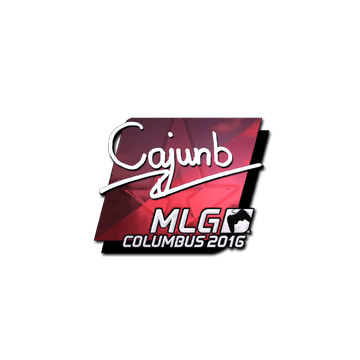 Sticker cajunb (Foil) | MLG Columbus 2016