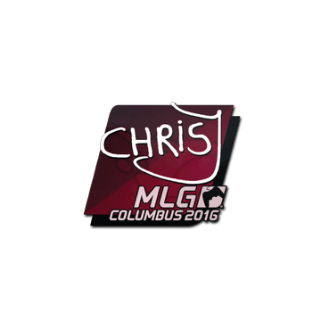 Sticker chrisJ | MLG Columbus 2016