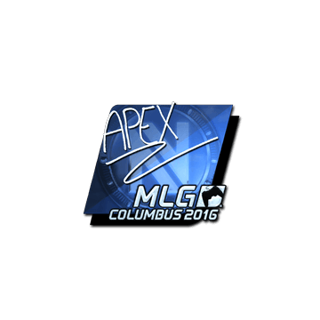 Sticker apEX (Foil) | MLG Columbus 2016