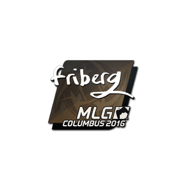Sticker friberg | MLG Columbus 2016