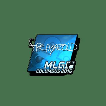 Sticker freakazoid (Foil) | MLG Columbus 2016