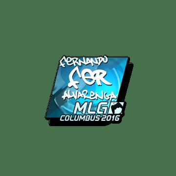 Sticker fer (Foil) | MLG Columbus 2016