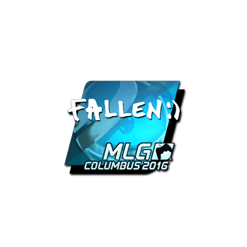 Sticker FalleN (Foil) | MLG Columbus 2016