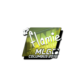 Sticker flamie (Foil) | MLG Columbus 2016