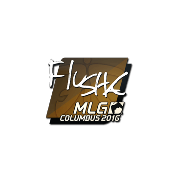 Sticker flusha | MLG Columbus 2016