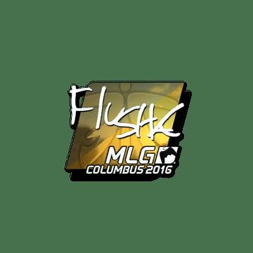 Sticker flusha (Foil) | MLG Columbus 2016