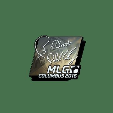 Sticker | f0rest (Foil) | MLG Columbus 2016
