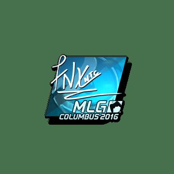 Sticker fnx (Foil)   MLG Columbus 2016