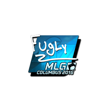 Sticker FugLy (Foil) | MLG Columbus 2016