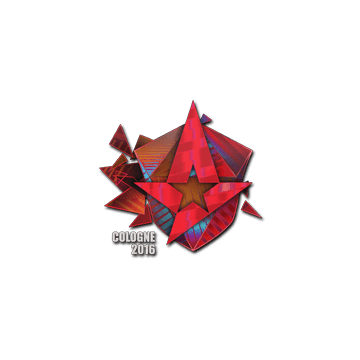 Sticker Astralis (Holo) | Cologne 2016