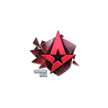 Sticker Astralis (Foil) | Cologne 2016