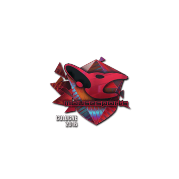Sticker mousesports (Holo) | Cologne 2016