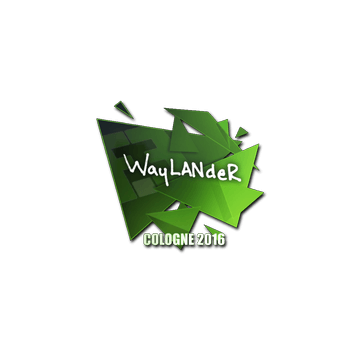 Sticker wayLander | Cologne 2016