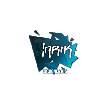 Sticker tarik | Cologne 2016