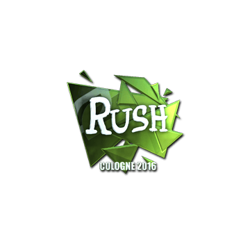 Sticker | RUSH (Foil) | Cologne 2016