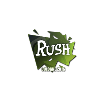 Sticker RUSH | Cologne 2016