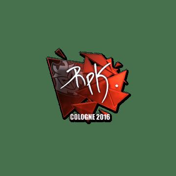 Sticker | RpK (Foil) | Cologne 2016