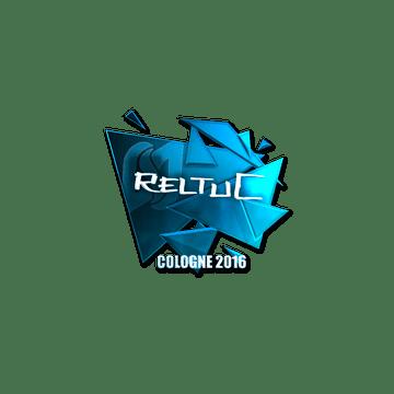Sticker reltuC (Foil) | Cologne 2016