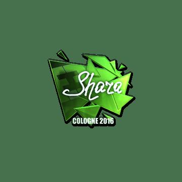 Sticker | Shara (Foil) | Cologne 2016