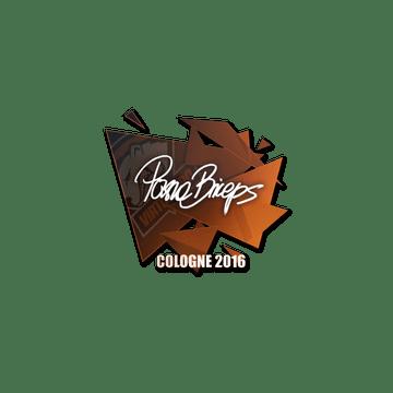 Sticker pashaBiceps | Cologne 2016