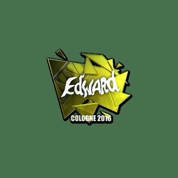 Sticker Edward (Foil) | Cologne 2016