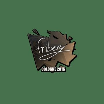 Sticker | friberg | Cologne 2016