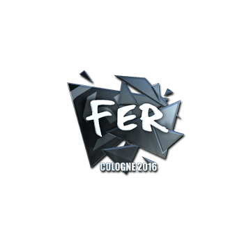 Sticker fer (Foil) | Cologne 2016