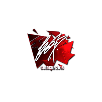 Sticker fox (Foil) | Cologne 2016