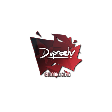 Sticker dupreeh | Cologne 2016