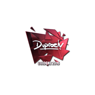 Sticker dupreeh (Foil) | Cologne 2016