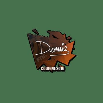 Sticker dennis | Cologne 2016