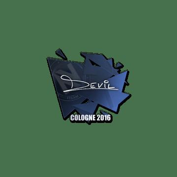 Sticker | DEVIL | Cologne 2016