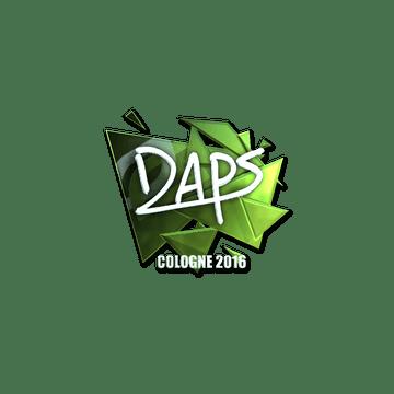 Sticker daps (Foil) | Cologne 2016