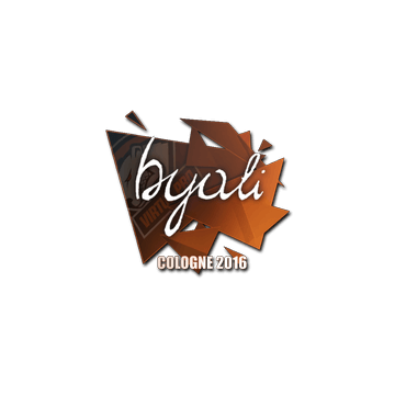 Sticker byali | Cologne 2016
