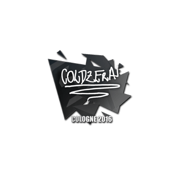 Sticker coldzera | Cologne 2016