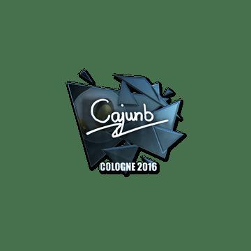 Sticker cajunb (Foil) | Cologne 2016