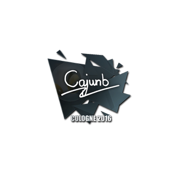 Sticker cajunb | Cologne 2016